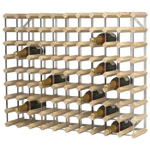 Xxlselect Drewniany stojak na wino | 81x23x(h)100cm