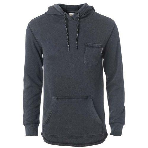 Koszulka - kroo pocket ls tee black (90) rozmiar: m marki Rip curl