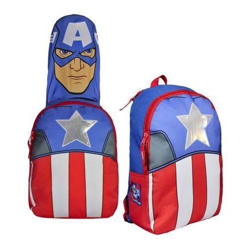 Plecak z kapturem Avengers Kapitan America 41 cm