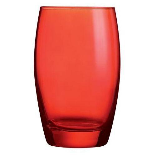 Szklanka wysoka 0,35 l, czerwona   ARCOROC, Salto
