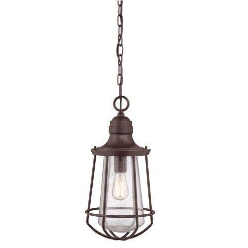 Zewnętrzna LAMPA ścienna QZ/MARINE/L Elstead QUOIZEL kinkiet OPRAWA elewacyjna IP44 vintage drut outdoor ciemny brąz (1000000162769)