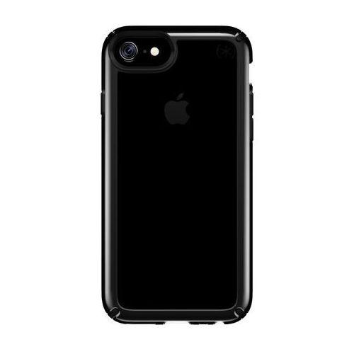 Speck Presidio Show - Etui iPhone 8 / 7 / 6s / 6 (Clear/Black), kolor czarny