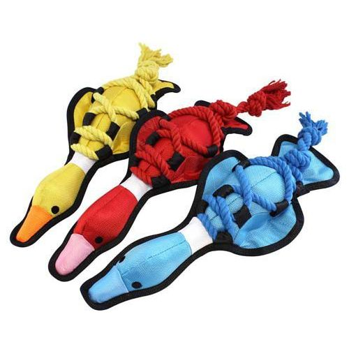 Zabawka dla psa wykonana z materiału nylonowego i sznura