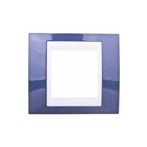 Unica Plus Ramka pojedyncza błękit indygo pozioma i pionowa MGU6.002.842, 0001-00000-60824 (4352972)