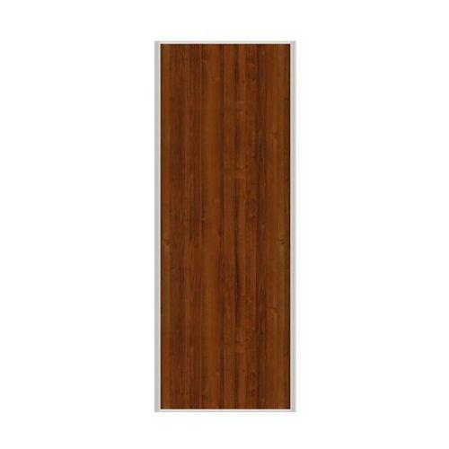 Spaceo Drzwi przesuwne do szafy orzech 67 cm