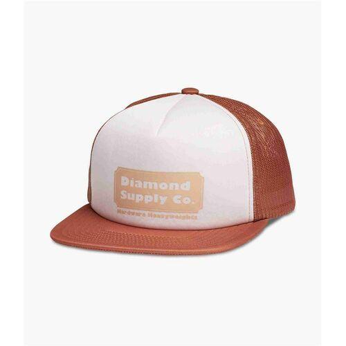 czapka z daszkiem DIAMOND - Hardware Trucker Hat W/ Rope Brown (BRN) rozmiar: OS, kolor brązowy