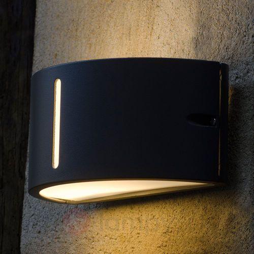 Lampa ścienna zewnętrzna 3304 gr, 1x100 w, e27, ip44, (dxsxw) 24.9 x 13.5 x 12 cm marki Eco-light