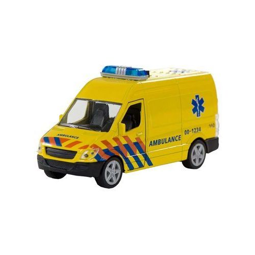 - unknown ambulance with light and sound