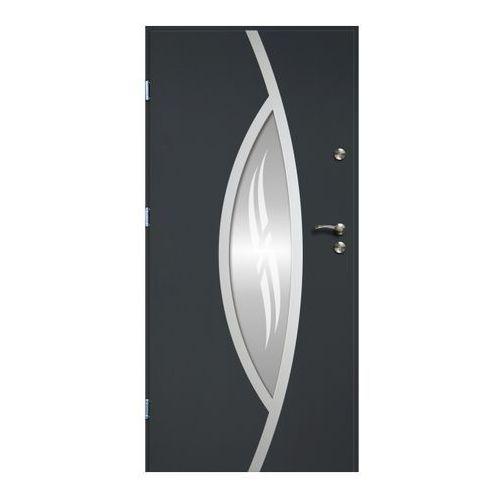 Drzwi zewnętrzne O.K.Doors Otto Ellise 90 lewe antracyt, OTTO ELLISE_C...AN