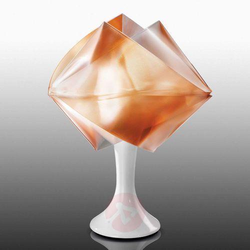 gemmy prisma color lampa stołowa w kolorze bursztynu, 1-punktowy - nowoczesny - obszar wewnętrzny - color - czas dostawy: od 8-12 dni roboczych marki Slamp