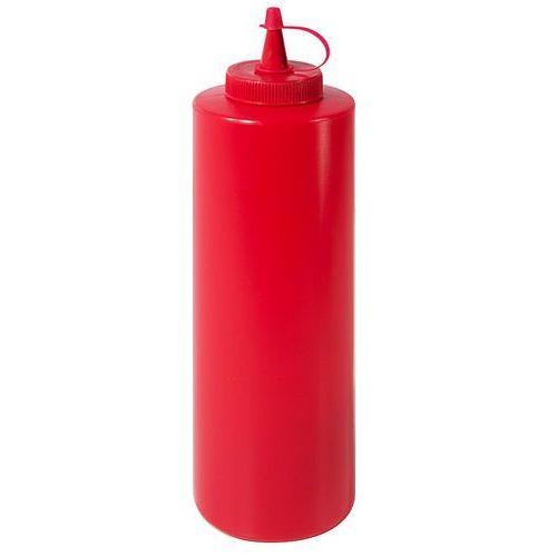 Dyspenser do sosów z polietylenu 0,7 l czerwony | , 1460/702 marki Contacto