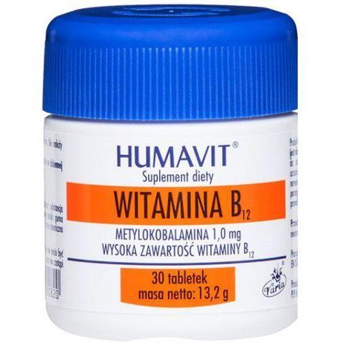 HUMAVIT Witamina B12 1mg 30tb METYLOKOBALAMINA