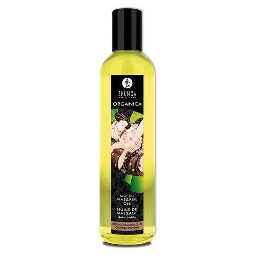Organiczny olejek do masażu upojna czekolada 250ml | 100% dyskrecji | bezpieczne zakupy marki Shunga