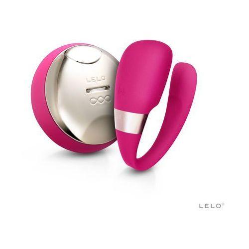 LELO Tiani 3 Wibrator dla Par Wiśniowy | 100% DYSKRECJI | BEZPIECZNE ZAKUPY