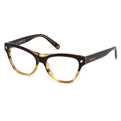 Okulary korekcyjne  dq5197 005 marki Dsquared2