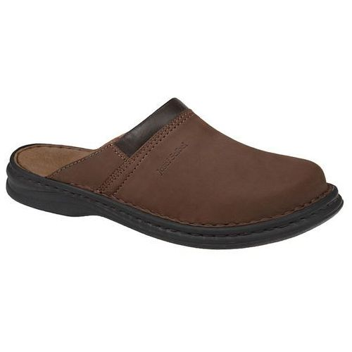 Josef seibel Klapki buty 10663 max brązowe - brązowy