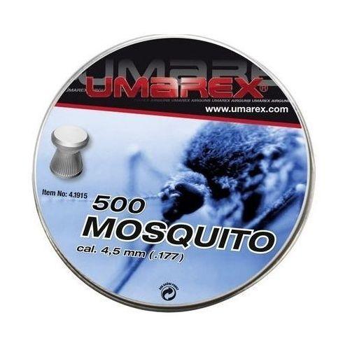 Śrut 4,5 mm umarex mosquito płaski moletowany 5op.x 500szt. (4.1915) marki Umarex / niemcy