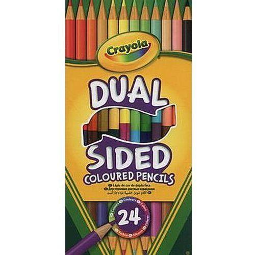 Crayola Dwustronne kredki ołówkowe 12 kolorów (0071662661007)