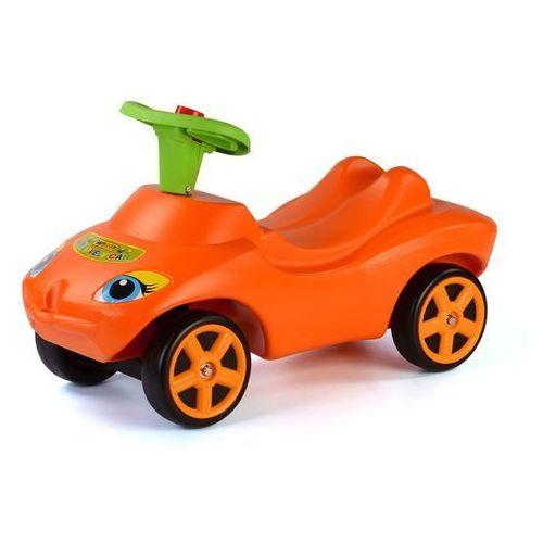 Polesie Wader Samochód jeździk z dźwiękiem, 69x29x39 cm, pomarańczowy