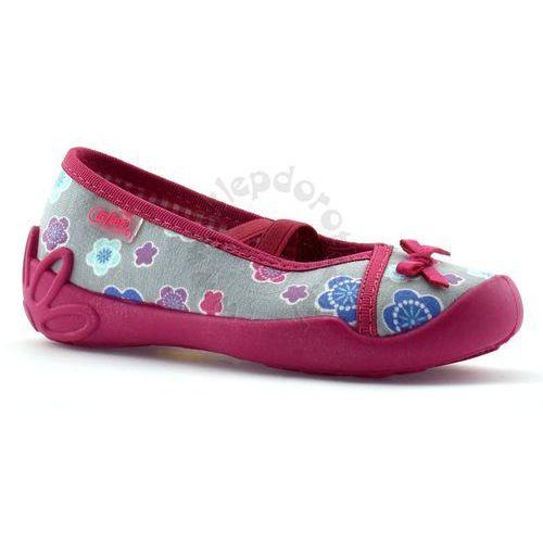 Kapcie dla dzieci 116x205 blanca - różowy   szary marki Befado