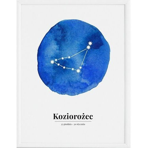 Plakat Zodiak Koziorożec 70 x 100 cm
