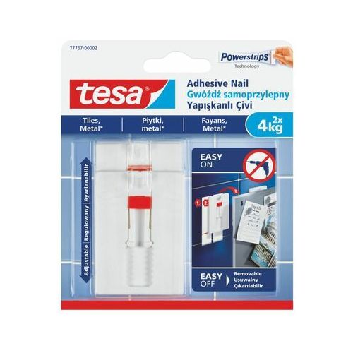 Gwóźdź samoprzylepny smart mounting system 2 szt. marki Tesa