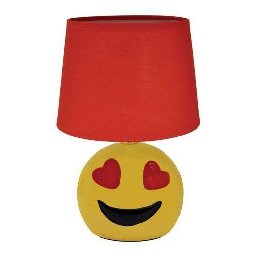 Lampa stołowa Struhm Emo 1 x 40 W E14 czerwona (5901477300059)