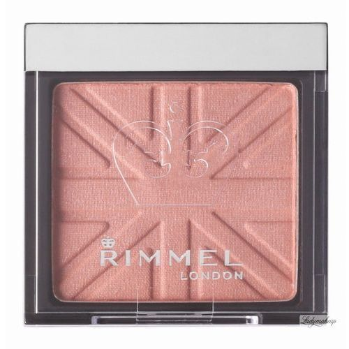 Rimmel London Lasting Finish Soft Colour Mono róż 4,5 g dla kobiet 120 Pink Rose