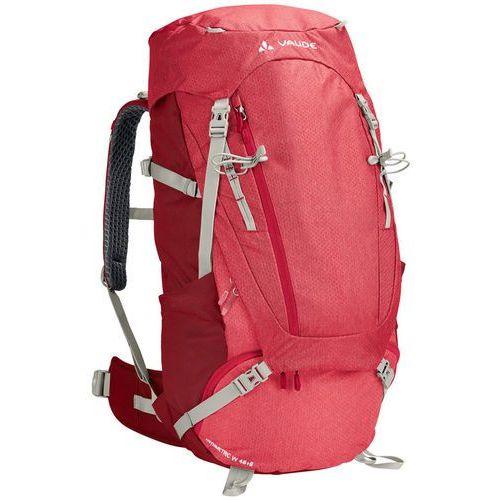Vaude asymmetric 48+8 plecak kobiety czerwony 2018 plecaki turystyczne