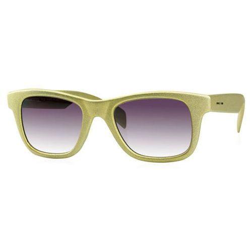 Okulary Słoneczne Italia Independent II 0090BTT I-TOUCH/I-TEEN Kids 030/000, kolor żółty