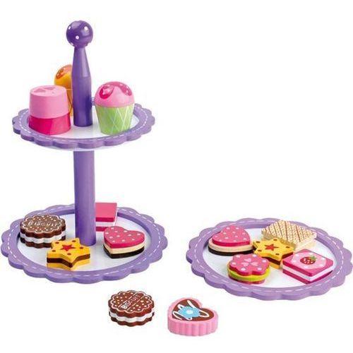 Patera z ciasteczkami i czekoladkami do zabawy w dom dla dzieci