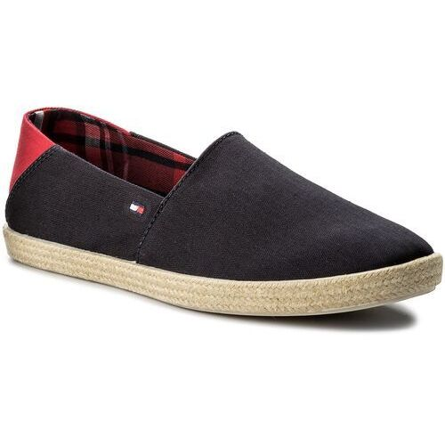Espadryle TOMMY HILFIGER - Easy Summer Slip On FM0FM00569 Midnight 403, w 6 rozmiarach