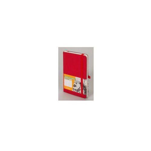 Antra Notes impresja a6 linia czerwony - (5904210032439)