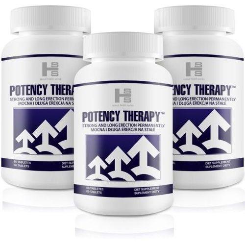 Mega zestaw 2+1 gratis potency therapy 180 tab. marki Sexual health series (gb)
