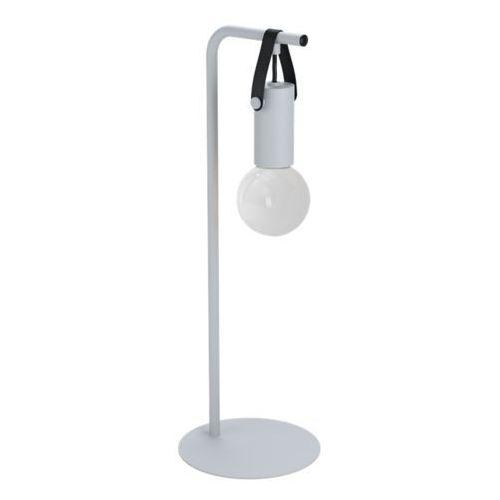 Eglo Apricale 98284 lampka stołowa biurkowa 1x60W E27 szara/czarna