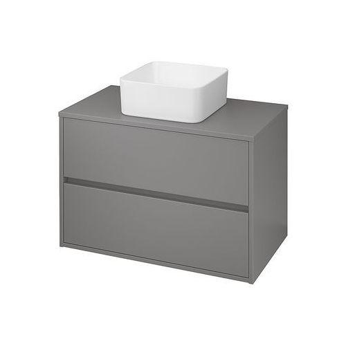 CERSANIT CREA Szafka 80 pod umywalki nablatowe, szary mat S924-018, kolor szary