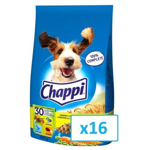 Chappi drób 0.5 kg x16 - darmowa dostawa od 95 zł!