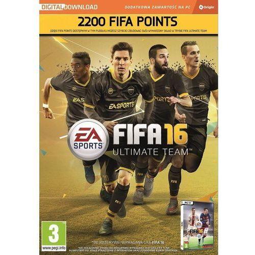 Fifa 16 2200 points pc marki Electronic arts, inc.