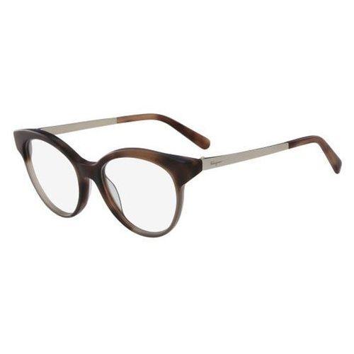 Okulary korekcyjne sf 2784 254 marki Salvatore ferragamo