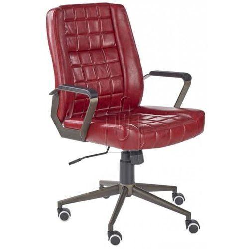 Fotel gabinetowy windsor bordowy - gwarancja bezpiecznych zakupów - wysyłka 24h marki Halmar