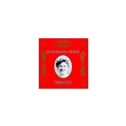Schumann - Heink / Prima Voce