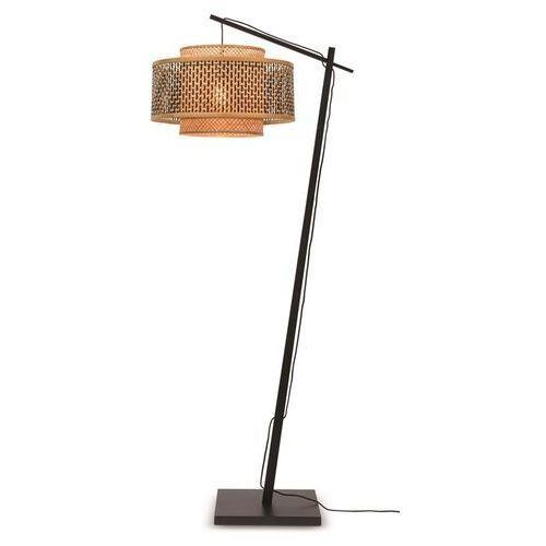 Good&mojo lampa podłogowa mała bhutan czarna 50x30 bhutan/f/ad/b/5030/bn