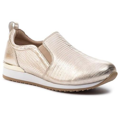 Sneakersy - 9-24600-22 lt gold comb 977, Caprice
