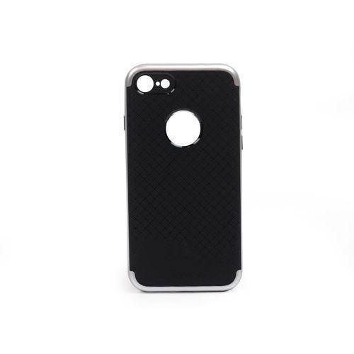 Apple iPhone 7 - etui na telefon Ipaky - Srebrny, kolor szary