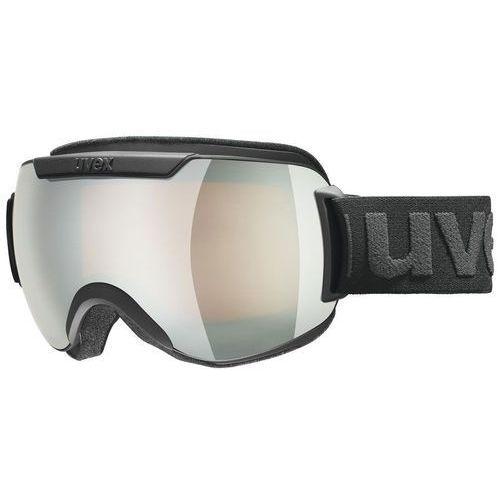 Uvex Gogle narciarskie downhill 2000 fm czarny/srebrny 550/115/2430