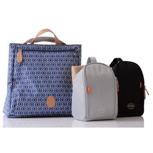 Pacapod torba do wózka dla mamy 3w1 lewis niebieska ze wzorem (5060177932103)