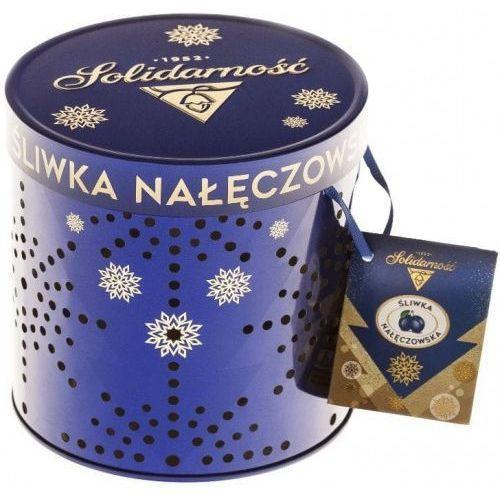 Solidarność Czekoladki śliwka nałęczowska 187g w eleganckiej puszce lampion