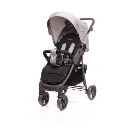 4baby  rapid wózek spacerowy spacerówka model 2017 black, kategoria: wózki spacerowe