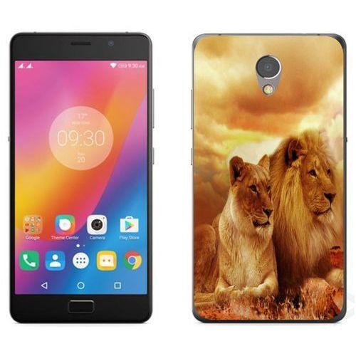 Lenovo P2 - etui na telefon - Kolekcja zwierzęta - lwy - L19