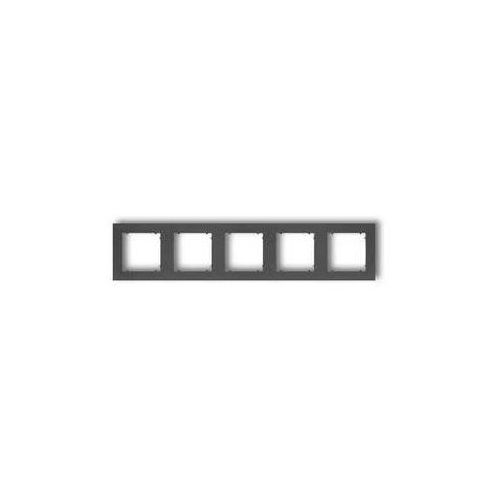 Ramka pięciokrotna mini 11mr-5 grafitowa marki Karlik